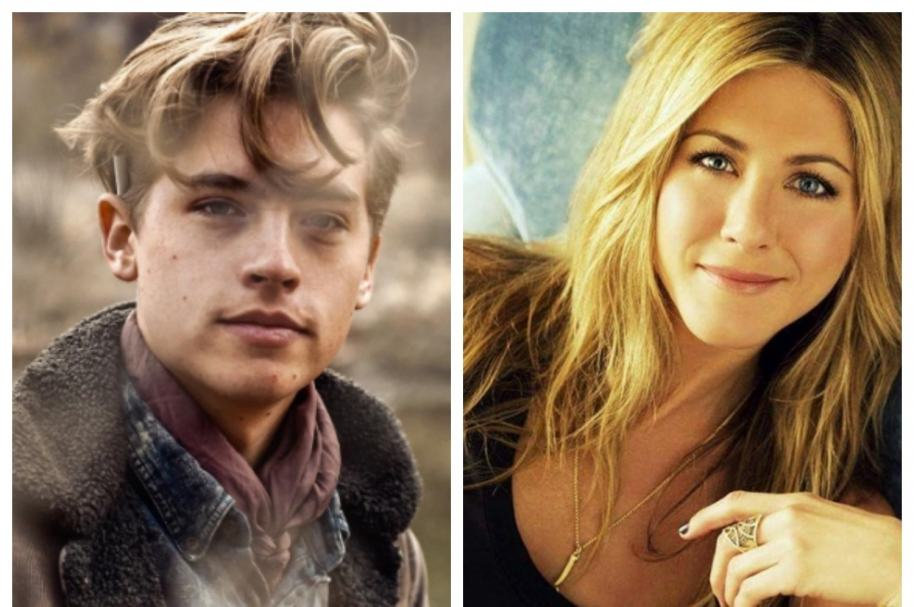Cole Sprouse y Jennifer Aniston. Pulzo.com