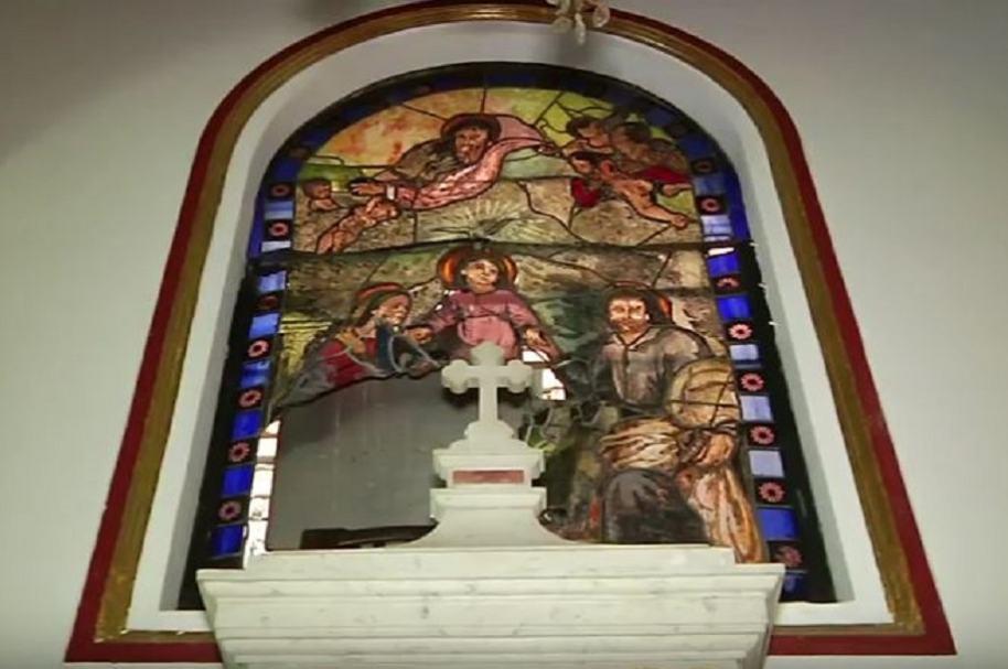 Vitral de iglesia