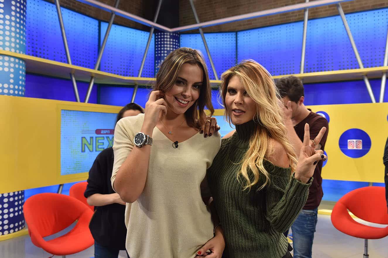 Sara Correa y Mara Roldán