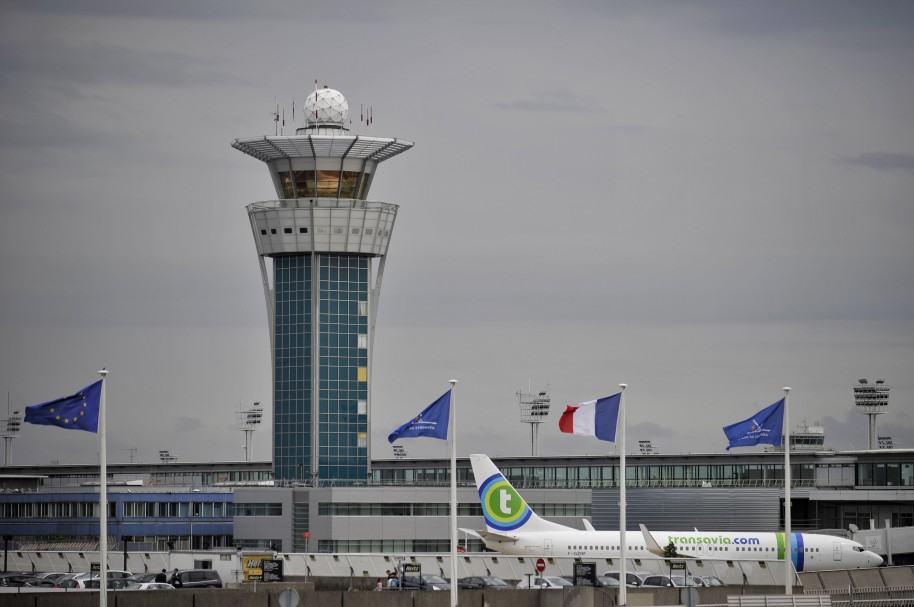 Torre de control del aeropuerto de Orly
