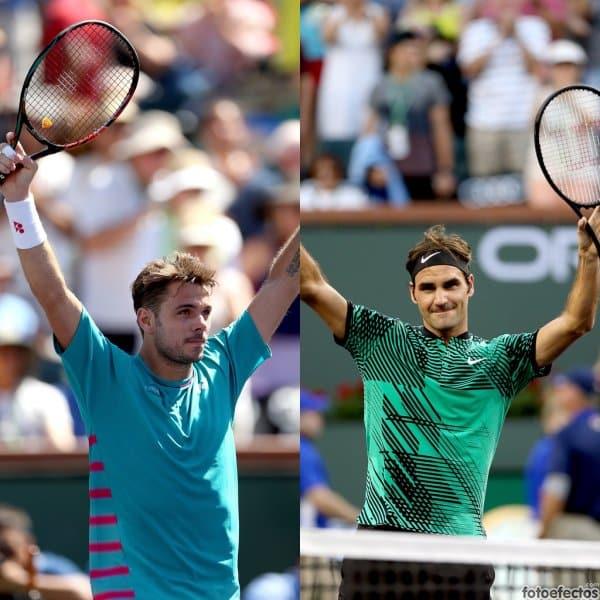 Wawrinka y Federer