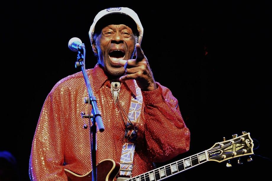 Fallece Chuck Berry