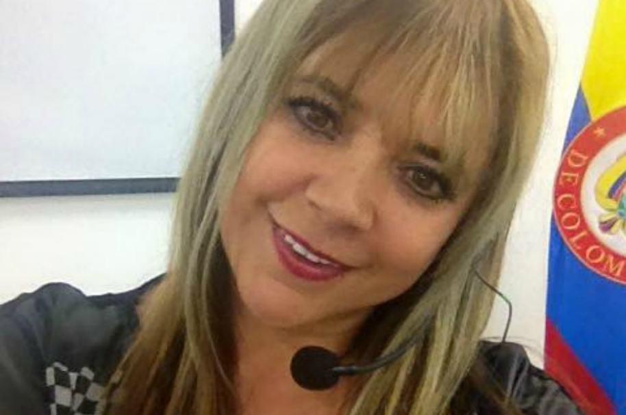 Patricia Silva, humorista colombiana.