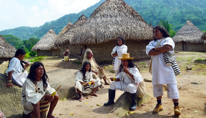 Indígenas koguis