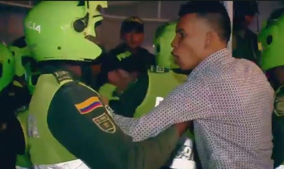 Agresiones contra Policía