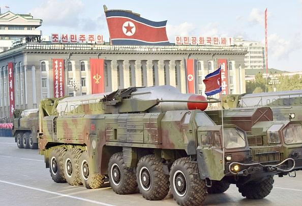 Misil en Pyongyang
