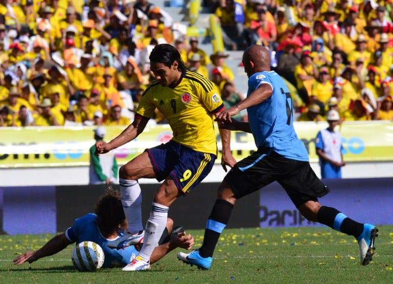 Falcao contra Uruguay