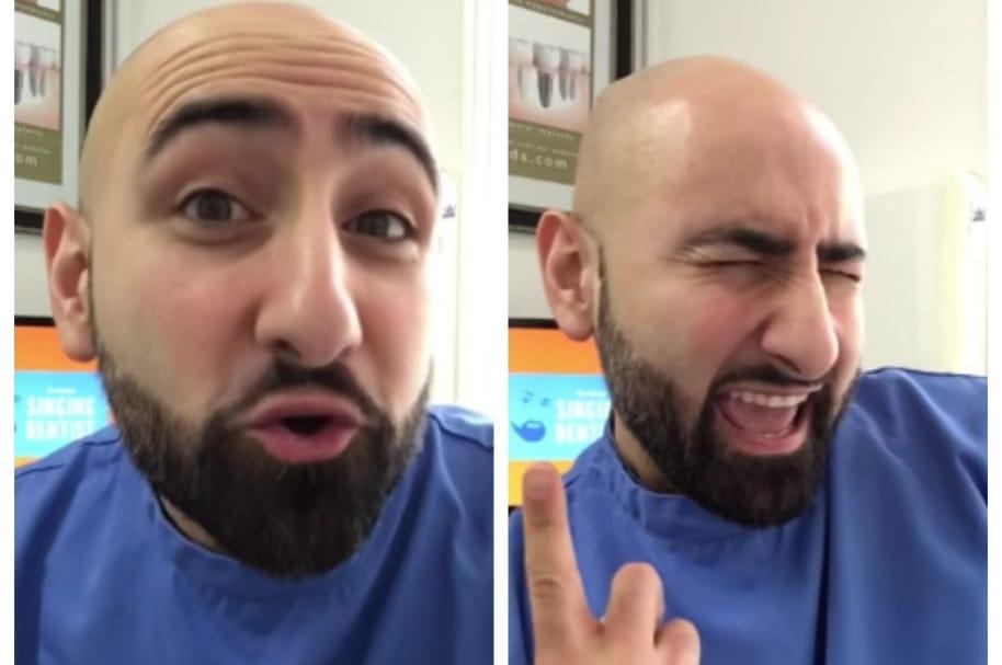El 'dentista cantante'. Pulzo.com