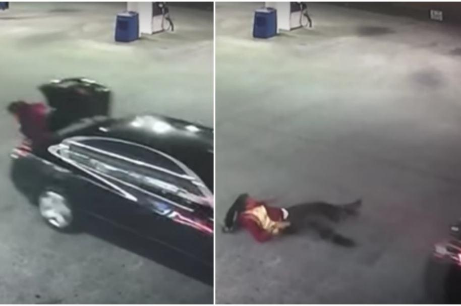 Mujer escapa de secuestro.