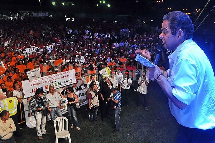 Germán Vargas en campaña