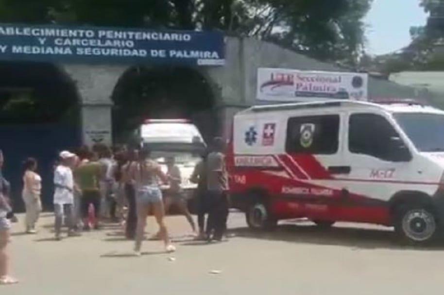Disturbios cárcel de Palmira
