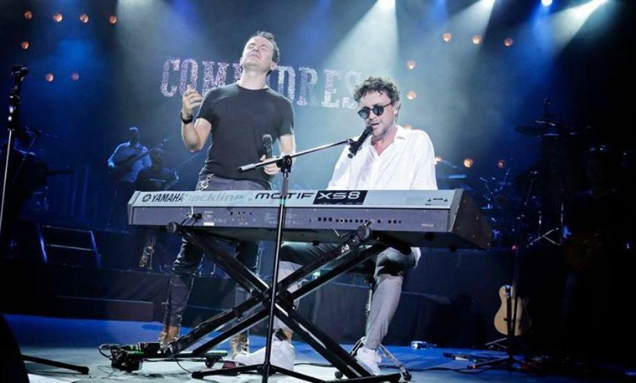 Fonseca y Andrés Cepeda, durante la gira 'Compadres'