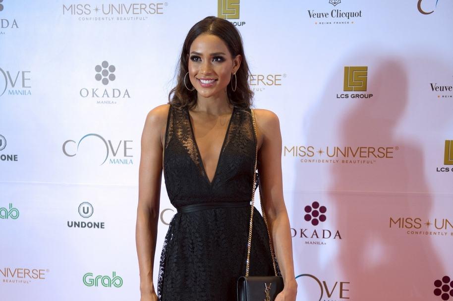 Andrea Tovar, ex Señorita Colombia.