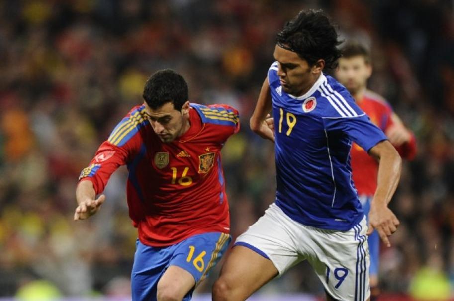 España versus Colombia