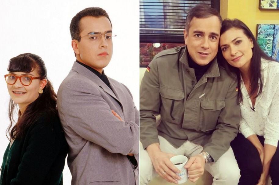 Jorge Enrique Abello y Ana María Orozco, protagonistas de 'Yo soy Betty la fea'.
