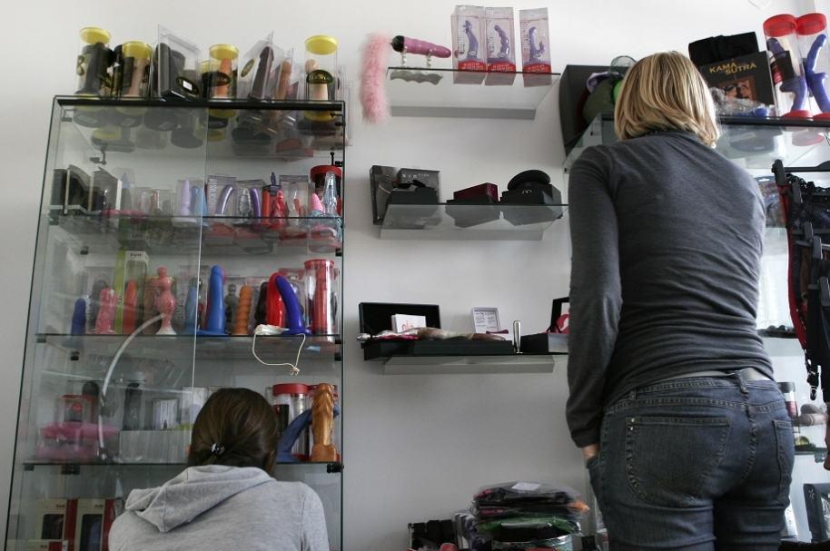 Robo en 'sex shop'