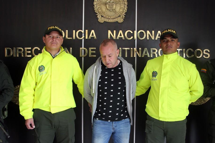 POLICÍA COLOMBIANA DEPORTA AL NARCOTRAFICANTE BRITÁNICO ALIAS 'EL INGLÉS'