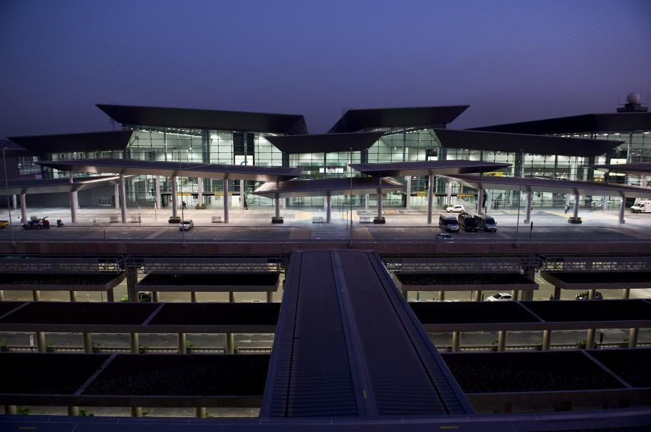 Terminal internacional del aeropuerto Guarulhos, de Sao Paulo