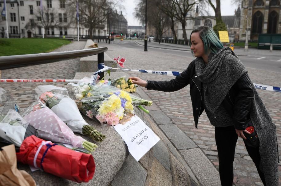 Homenajes luego del atentado en Londres
