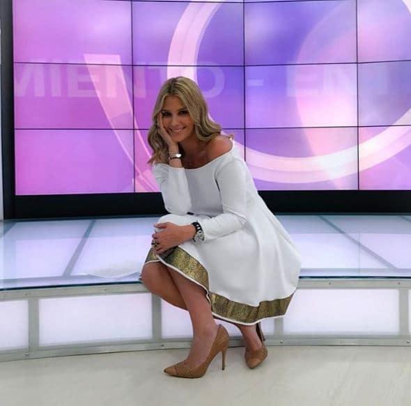 Andrea Guerrero, periodista deportiva
