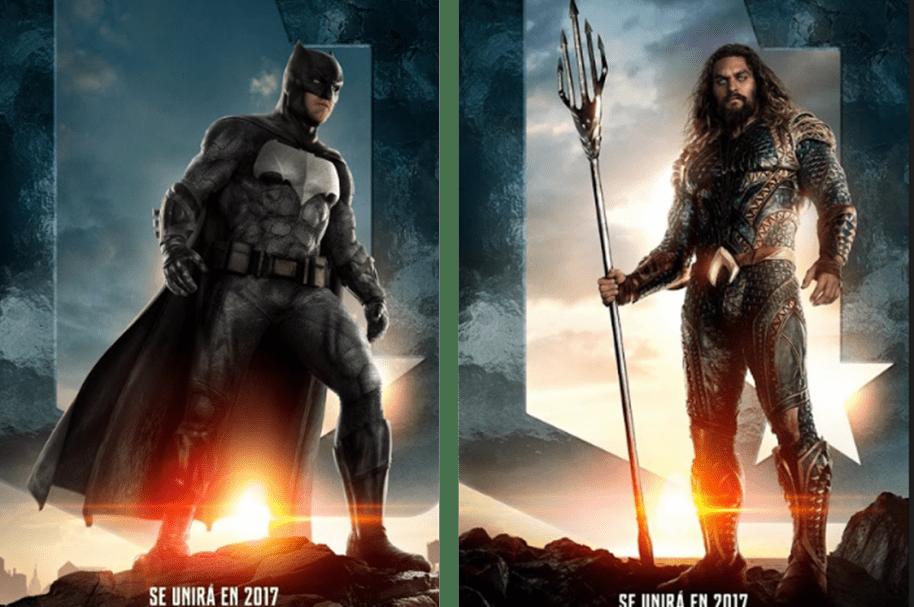 Batman / Aquaman en 'La liga de la justicia'
