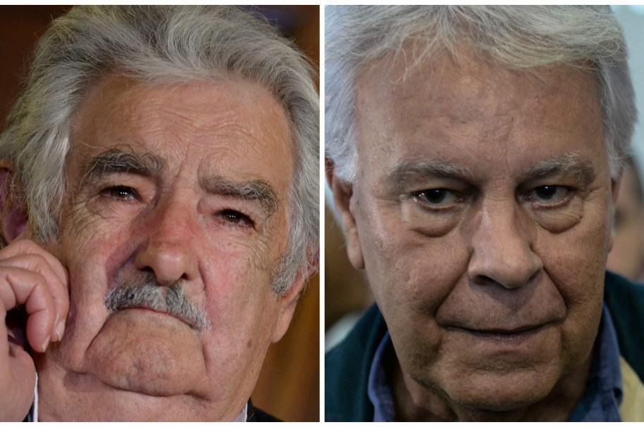 Pepe Mujica y Felipe González