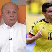 Carlos Antonio Vélez y James Rodríguez