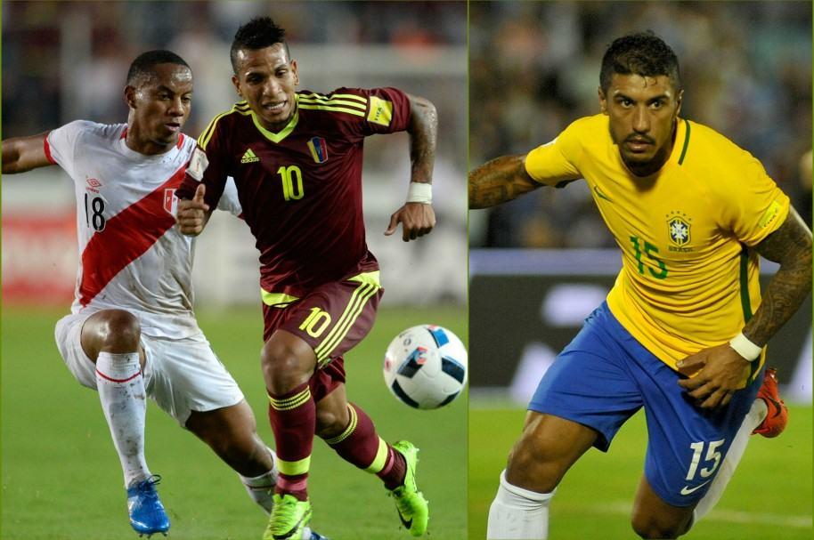 El peruano André Carrillo, el venezolano Romulo Otero y el brasileño Paulinho marcaron golazos este jueves