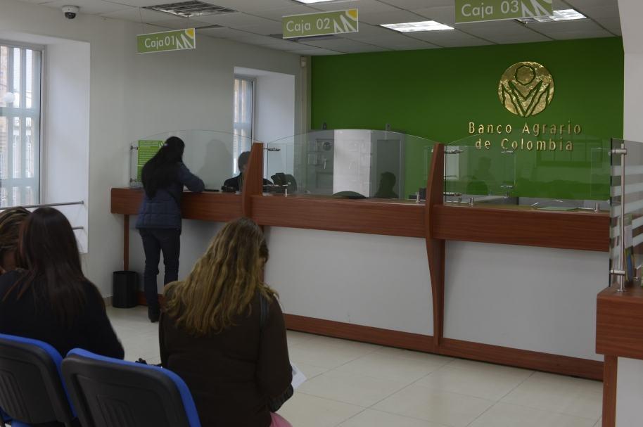 Sucursal del Banco Agrario