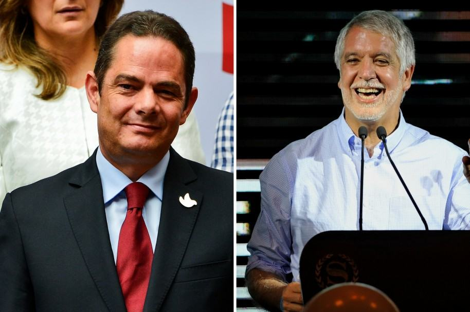Germán Vargas LLeras y Enrique Peñalosa
