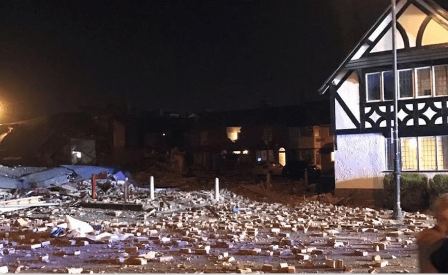 Explosión en Liverpool