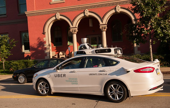 Carro automático de Uber