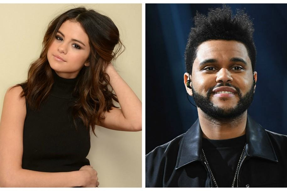 Selena Gomez y The Weeknd.