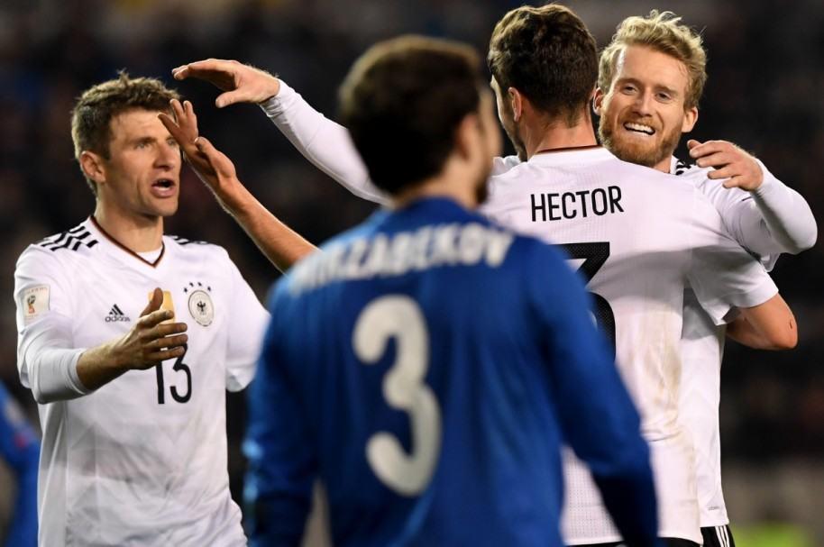 Alemania 4-1 Azerbaiyán