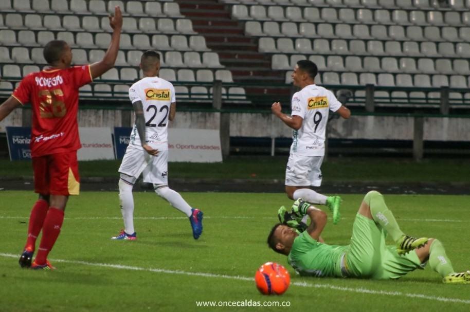 Once Caldas 1-0 Rionegro Águilas