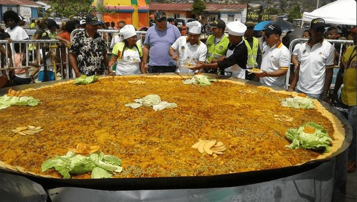 Paella en Cartagena