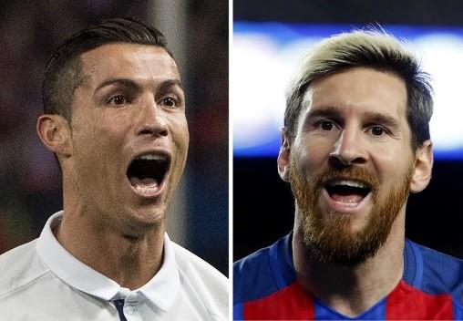 Cristiano Ronaldo y Lionel Mess