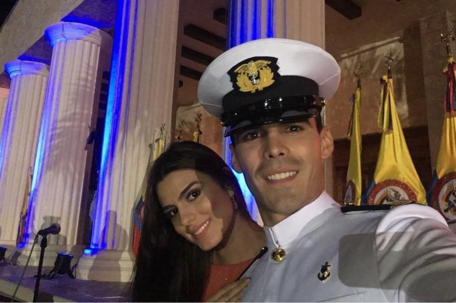 Lucía Aldana, exseñorita Colombia, y su esposo Pedro Pallares, actor y exprotagonista de novela.