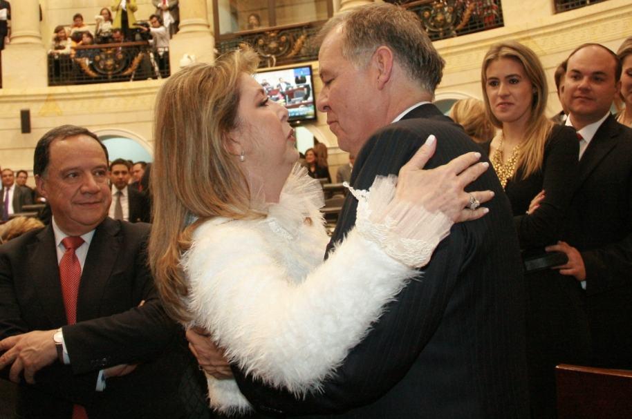 Beatriz Hernández de Ordóñez y Alejandro Ordóñez