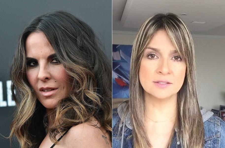 Kate del Castillo, actriz de 'La reina del sur' e 'Ingobernable', y Vicky Dávila, periodista de La W Radio.
