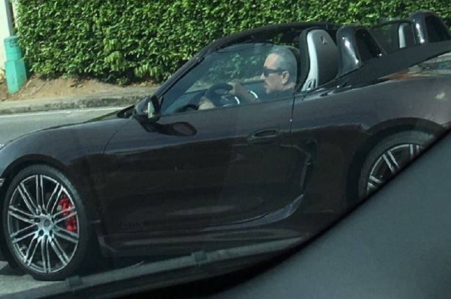 Hugo Aguilar en Porsche