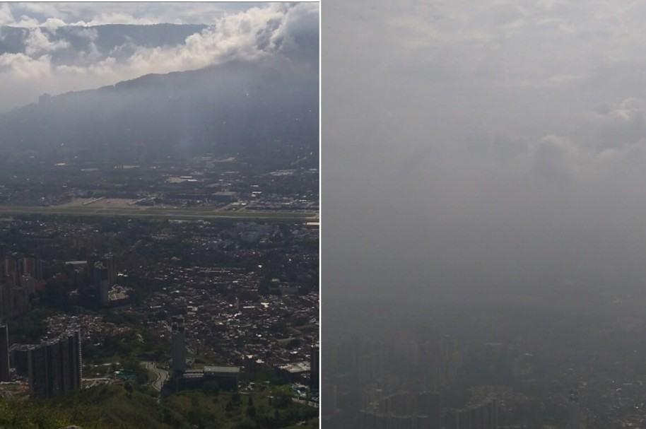Medellín, cerro de las Tres Cruces