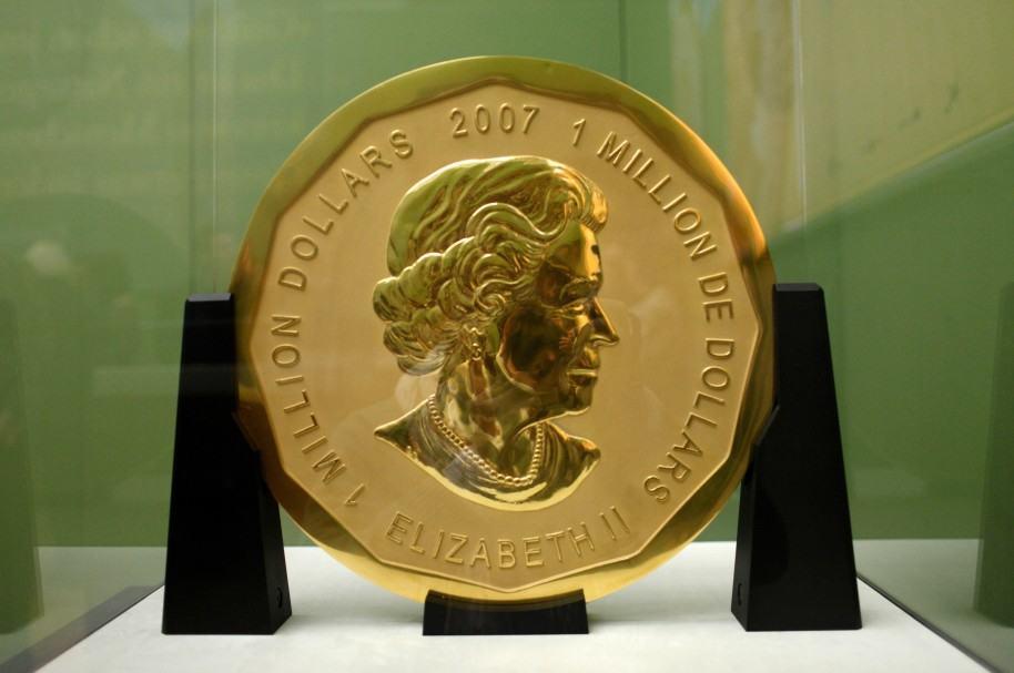 La moneda robada del museo Bode en Berlín
