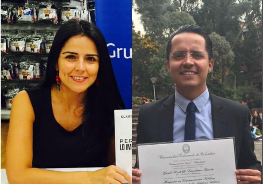 Claudia Palacios y Yesid Lancheros