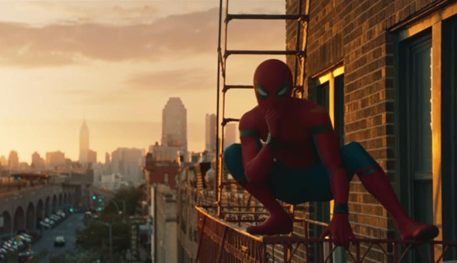 Captura de tráiler de 'Spiderman: Homecoming'.