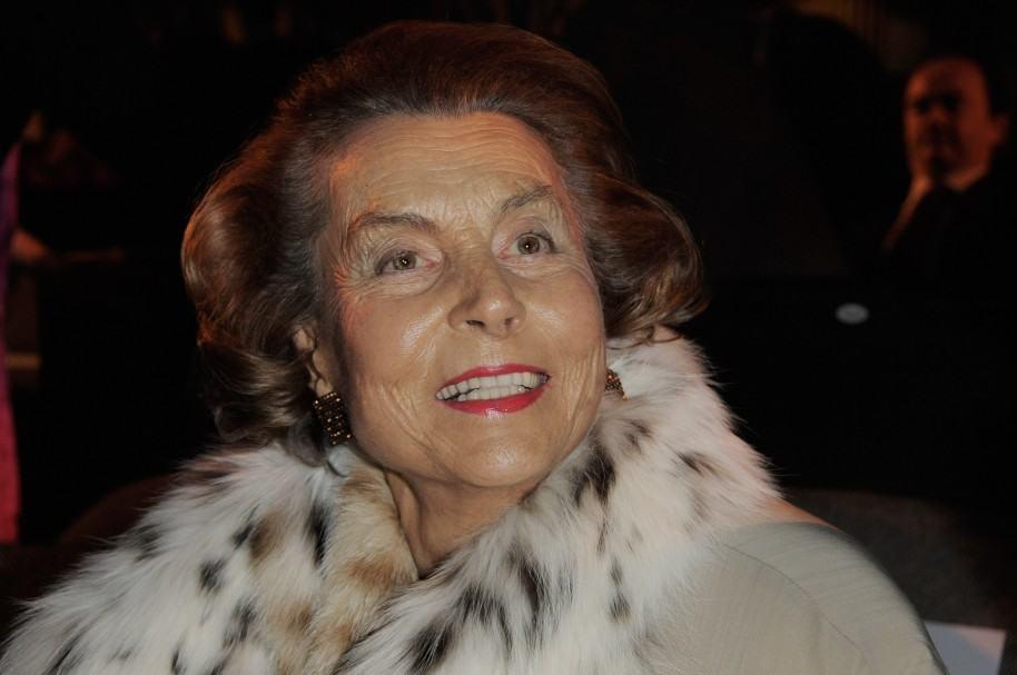 Liliane Bettencourt, de L'Oreal, la mujer más rica del mundo