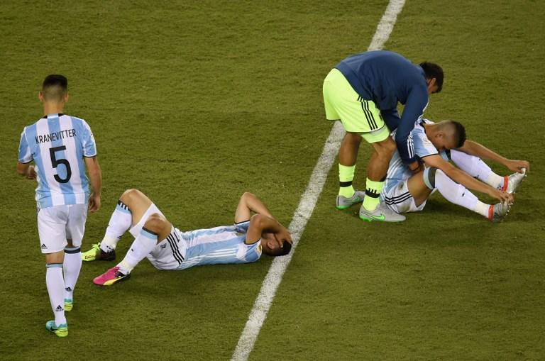 Jugadores Argentina
