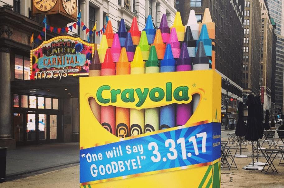 Crayola eliminará uno de sus colores