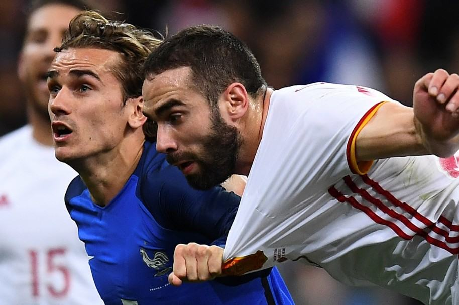 Francia 0-2 España
