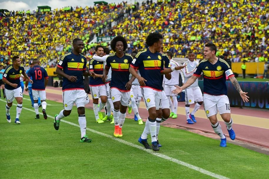 Ecuador 0-2 Colombia